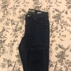 Dark Wash Denim Leigh Jeans